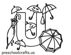 The 10 best Letter U Coloring Pages images on Pinterest