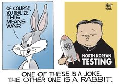 2013 politics | NORTH KOREAN JOKE by Political Cartoonist Randy Bish