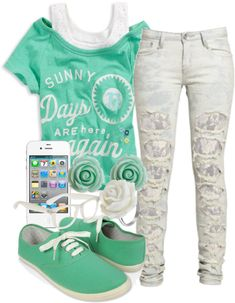 """""""ready for summer. D:"""" by perfectly-mindless ❤ liked on Polyvore"""