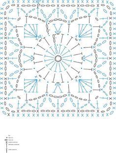 World crochet: Motif 286