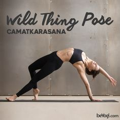 Did you know that the Wild Thing Pose opens the chest and shoulders? #POTW