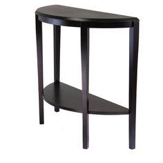 Half Circle Modern Wood Tables Decor