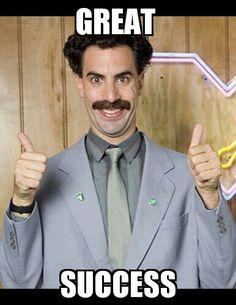 Listen to Borat