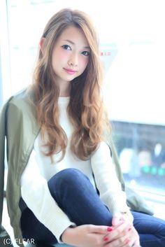 ラフなふわふわロングパーマスタイル#松本Style