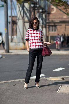 Louis Vuitton handbag.   - HarpersBAZAAR.com