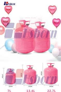Helium gas tanks are mainly used for filling helium, has higher safety and operability.It is widely used for wedding, party and other activities to fill the balloon and toys to decorate.It is suitable for non-professional family and personal use. Ballon Helium, Helium Tank, Balloons, Helium Gas Cylinder, The Balloon, 3l, Activities, Toys, Outdoor Decor