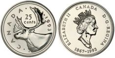 """Welcome to my post on modern rare Canadian coins. One of the most fascinating areas of coin collecting is finding what are known as """"error"""" coins. These coins are the result of a mistake made by … Rare Coins Worth Money, Valuable Coins, Rare Pennies, Canadian Coins, Canadian Dollar, Canadian Bacon, Sell Coins, Foreign Coins, American Coins"""