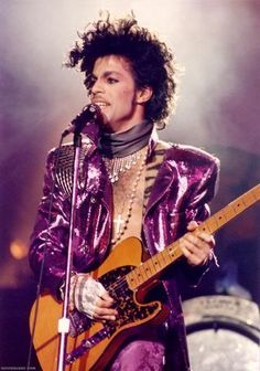 Prince Really DOES Love His Guitar!