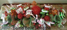 Gingerbread centerpiece Christmas Wreaths, Christmas Crafts, Gingerbread, Centerpieces, Holiday Decor, Party, Home Decor, Decoration Home, Room Decor