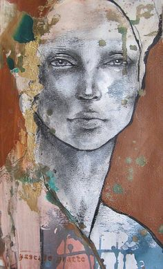 Kai Fine Art is an art website, shows painting and illustration works all over the world. Painting People, Figure Painting, Painting & Drawing, Watercolor Portrait Painting, Figure Drawing, Abstract Portrait, Portrait Art, Portrait Ideas, Art Visage