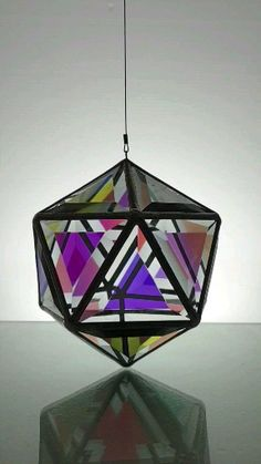 Geometric art and glass pendant lights based on the golden ratio and the principles of sacred geometry. All glass sculptures are hand-made in Bangalow, Australia Stained Glass Suncatchers, Stained Glass Crafts, Stained Glass Lamps, Stained Glass Patterns, Geometric Pendant Light, Glass Pendant Light, Glass Pendants, Glass Art Pictures, Art Deco Lamps