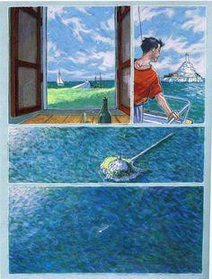 Trazo de tiza. Miguelanxo Prado. Prado, Georges Wolinski, Comic Artist, Storytelling, Novels, Artists, Cartoon, Manga, Writing