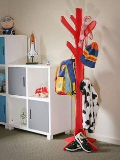 Mocka Red Tree Hanger at Buxton Baby Australia Cnc Router, Coat Hanger Stand, Tree Coat Rack, Coat Racks, Mdf Furniture, Wall Hanger, Hangers, Clothes Hanger, Red Tree