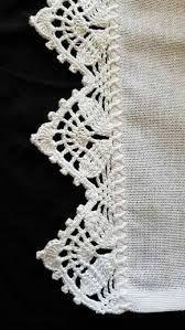 66 ideas for crochet edging lace pattern Crochet Edging Patterns, Crochet Lace Edging, Crochet Motifs, Crochet Borders, Filet Crochet, Crochet Designs, Crochet Doilies, Crochet Flowers, Easy Crochet