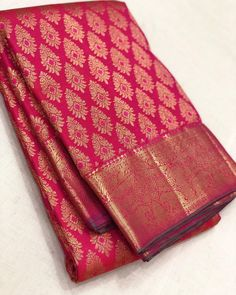 Pure Handloom Gold zari kanjivaram silk sarees Pl contact us at 918056477235 whatsapp for orders and details We accept online Indian Bridal Sarees, Wedding Silk Saree, Indian Silk Sarees, Pure Silk Sarees, Kanchi Organza Sarees, Kanjivaram Sarees Silk, Designer Sarees Wedding, Designer Silk Sarees, Trendy Sarees