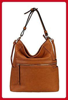 9e92cf73c5e91 PU Leather Simpilicity Front Zipper Causal Hobo Womens Purse Handbag JQ-