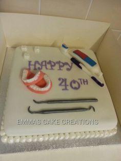 dentist cake www.mydentaltourism.com