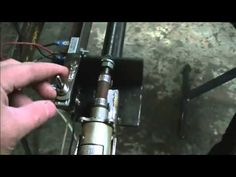 Cutting a perfectly straight edge with an OA torch - YouTube