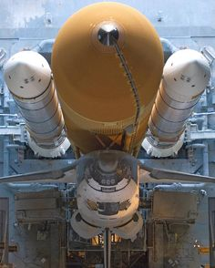 Space Shuttle Atlantis in the VAB