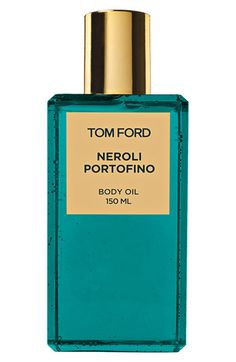 Tom Ford Neroli Portofino Body Oil. $70. I just tried this on for the first time at Nordstrom last Saturday, & I ended up spritzing it all over my body. It smells wonderful! However, can't be doling out 205+ dollars on the eau de parfum, so the body oil seems like a good compromise...
