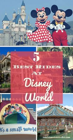 If you are in Orlando visiting Disney World and having a magical time. Here are what we think are the 5 best rides to make sure your children go on.