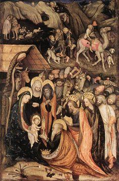 Stefano Da Zevio, Adoration of the Magi, 1435