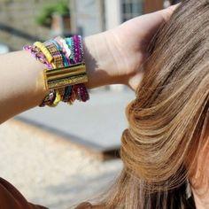 Cannes Statement Hipanema   #Cuff £85 #Friendship bracelets