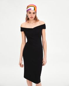 e7b12b1e5db FITTED DRESS - DRESSES-TRF-SALE
