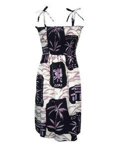 Mid Length Smocked Dress Piena