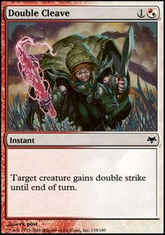 Double Cleave ($.18) Price History from major stores - Eventide - MTGPrice.com Values for Ebay, Amazon and hobby stores!