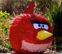 """Photo 2 of 23: Angry Birds / Birthday """"Benjamin's 2nd BIRD-day""""   Catch My Party"""