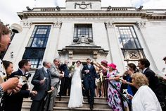 Islington Town Hall and Islington Metal Works - Chris Giles Photograpy London Wedding, Town Hall, Confetti, It Works, Street View, Metal, Photography, Photograph, Fotografie