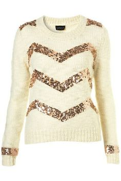 chevron glitter sweater loveeee