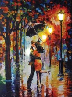 Dance Under The Rain Lighted Canvas Wall Art. This Dance Under The Rain Lighted Canvas Wall Art has an on/off switch to light up any room in the house. Perfect for any dance fans.
