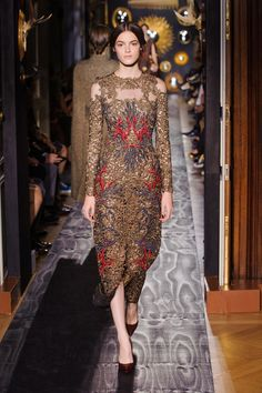 Lace Goes Dark With Valentino's Dramatic Couture - The Cut