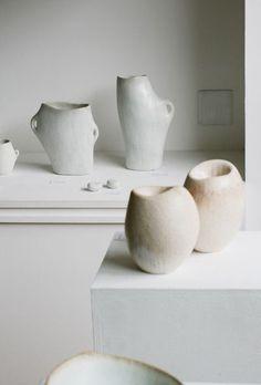 beautiful handmade ceramic vases.
