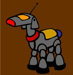 robo pet coloring page