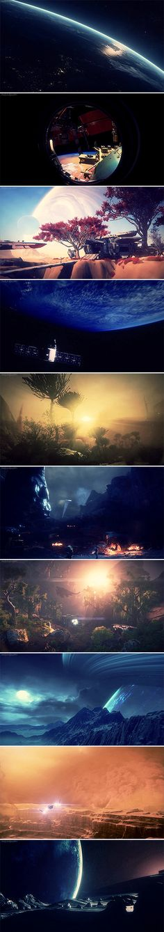 « Mass Effect: Andromeda + Scenery »