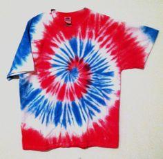Tie Dye Tshirt  Featival Wear and Fashion  by RainbowEffectsTieDye, $13.00