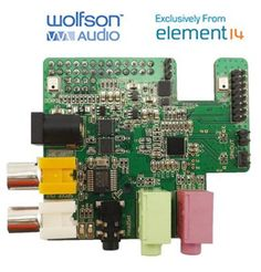 2015 Updated Wolfson Pi Audio Card for Raspberry Pi Brand New Free Shipping # #RaspberryPi