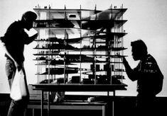 Jussieu Library Competition, Paris, France 1992 - Maqueta del proyecto para biblioteca en Paris  //  OMA