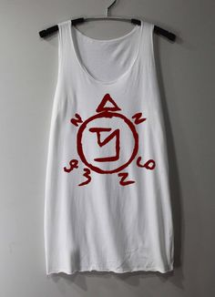 Etsy :: Supernatural Spell Shirt Angel Banishing Sigil by ThinkingGallery :: $15.00