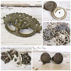 Fabulous old hardware for repurposing projects! Hogg Barn Antiques