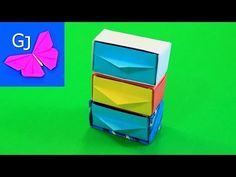 Оригами шкаф для кукол - YouTube