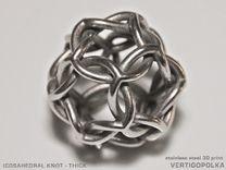 3d printed metal design by vertigo polka on shapeways