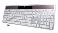 Logitech Wireless Solar Desktop Keyboard K750 for Mac - Silver -  http://www.wahmmo.com/logitech-wireless-solar-desktop-keyboard-k750-for-mac-silver/ -  - WAHMMO