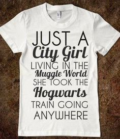 I'm in love with this Harry Potter t-shirt!