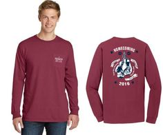 Home - Tuttle Marketing Services West Chester University, Delta Phi Epsilon, Greek Apparel, Greek Clothing, Custom Clothes, Homecoming, Marketing, Long Sleeve, Mens Tops
