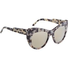 Stella McCartney Tortoiseshell Cat-Eye Sunglasses at Barneys.com