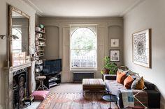 georgian living room London Living Room, Room London, London House, London Apartment Interior, Flat Interior, Interior Design, Georgian Townhouse, London Townhouse, Two Bedroom Apartments